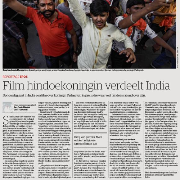 Film hindoekoningin verdeelt India